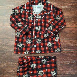 Mickey Mouse Plaid Pajamas